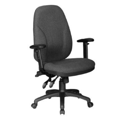 כסא משרדי קאן אתלטיקו אפור
