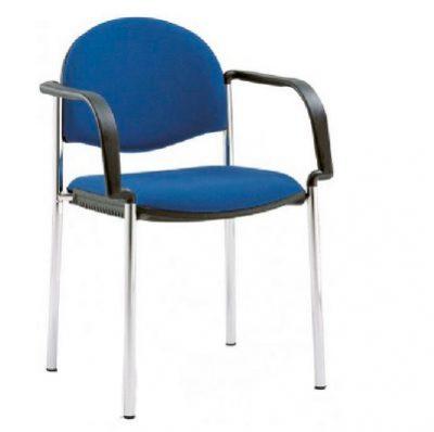 כסא המתנה ואירוח guest-chair קאן ברייטון עם ידיות
