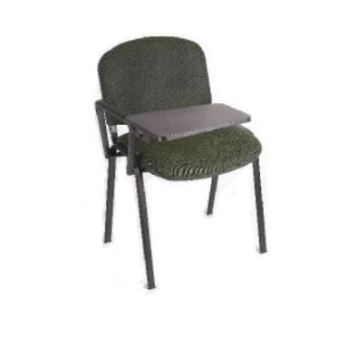 כסא סטודנט טופ מרופד כסא עם ידית מתקפלת ומדף יצוק