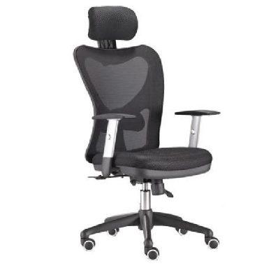 כסא מנהלים טופ גיא משענת ראש גב גבוה