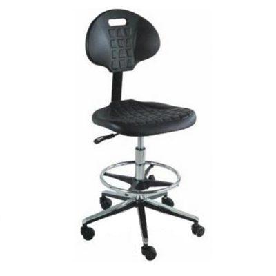 כסא מעבדה טופ בר גבוה עגול