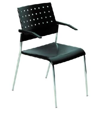 כסא המתנה ואירוח guest-chair טופ פריז עם ידיות