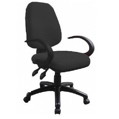 כסא משרדי office-chair קאן ערבה עם ידיות