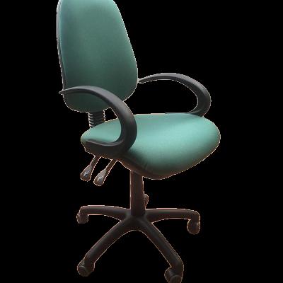 כסא משרדי ערבה עם ידיות קשת