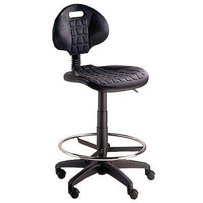 כסא שרטט מעבדה טופ פוליאוריטן כסא דלפק גבוה כיסא שרטט קפרה ציוד משרדי