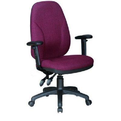 כיסא מחשב צחור בורדו