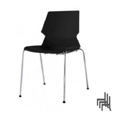 כסא המתנה ואירוח guest-chair קאן גלילות ללא ידיות נערם