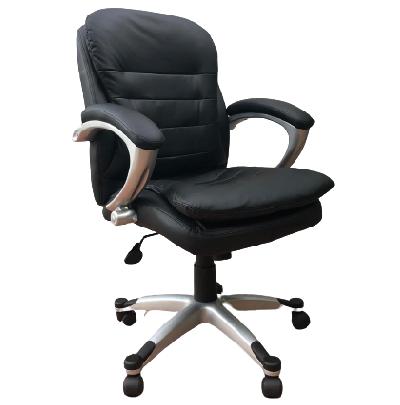 כסא מנהלים טופ תלם שחור