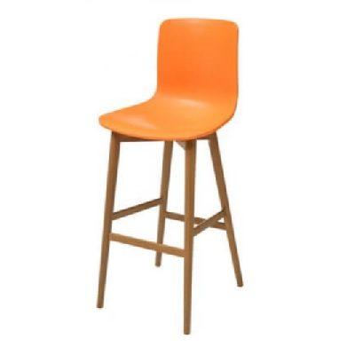 כסא בר דלפק גבוה נץ טולוז כתום