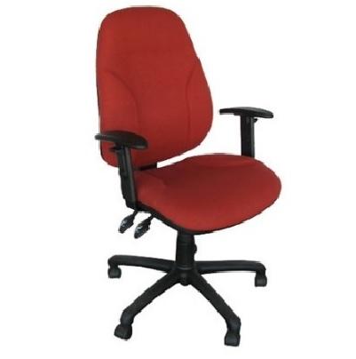 כסא משרדי טופ צחור office chair גב גבוה טופ גפן עם ידיות