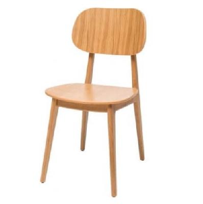 כסא המתנה ואירוח guest-chair נץ לגאנס עץ אלון