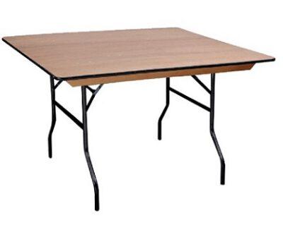 שולחן מתקפל בקלות ריבוע 160/160 קל לנשיאה