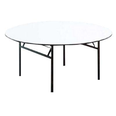 שולחן עגול 120 רגל מתקפלת