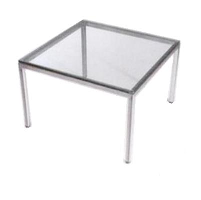 שולחן פלטת זכוכית קאן מרובע