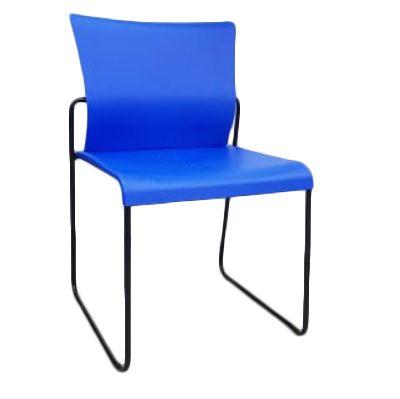 כסא המתנה ואירוח guest-chair קאן תמנע ללא ידיות נערם