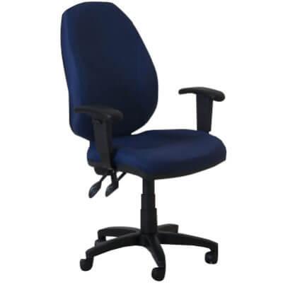 כסא מחשב גב גבוה טופ גפן עם ידיות