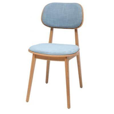 כיסא פינת אוכל המתנה ואירוח guest-chair נץ לגנאס מרופד