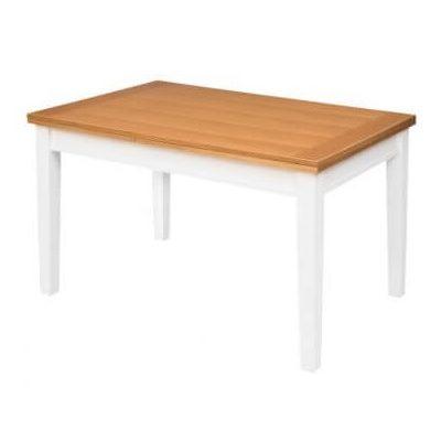 שולחן פינת אוכל נץ הרץ אלון ולבן
