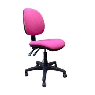 כסא מחשב ללא ידיות שושן ורוד - קפרה ציוד משרדי