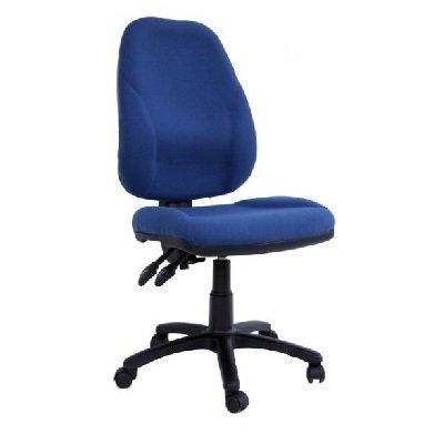 כסא מחשב גב גבוה טופ גפן ללא ידיות