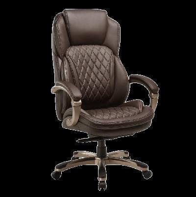 כסא מנהלים פייזלי חום