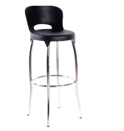 כסא בר גרמיו שחור