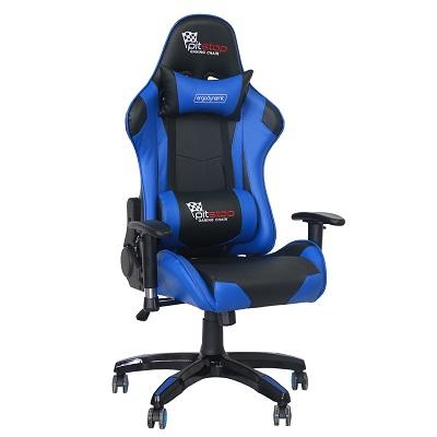 כסא גיימינג איכותי PitsTop Shankly - כחול