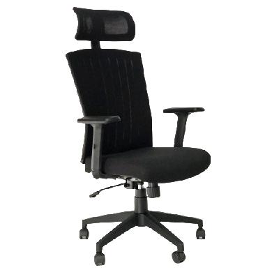 כסא מנהלים גב גבוה אס ניקוסיה קפרה ציוד משרדי