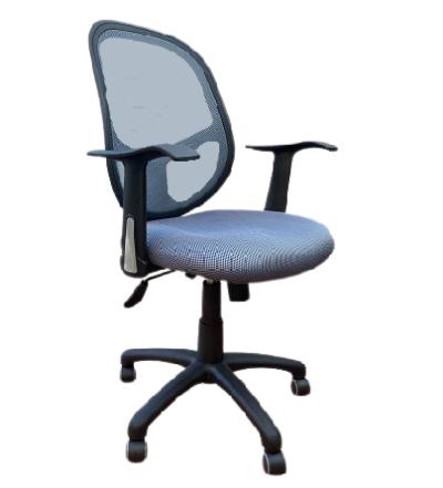 כסא מחשב עם ידיות טופ גומא