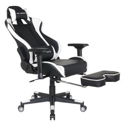 כסא גיימינג עם הדום פתוח