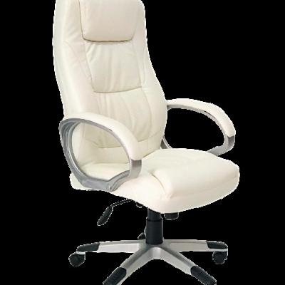 כסא מנהלים אס אופק לבן