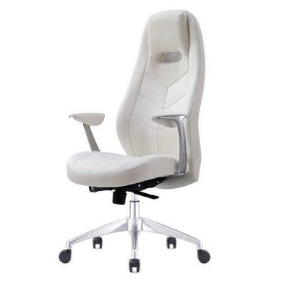 כסא מנהלים ברוז' לבן